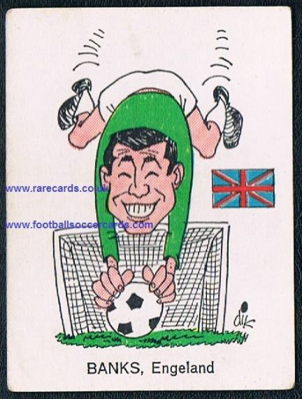 1966 England Gordon Banks Monty Gum